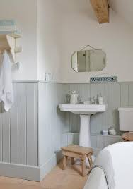 bathroom wall coverings ideas the blue grey panels and white bathroom stuff