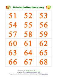 printable number cards 0 100 printable numbers org