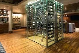 glass basement doors glass wine cellar uk hungrylikekevin com