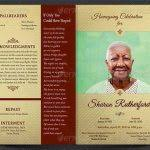 templates for funeral program funeral brochure template 35 funeral program brochure templates