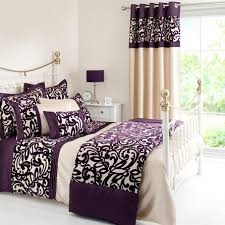Dunelm Mill Duvets Plum Baroque Flock Collection Duvet Cover Dunelm Bedroom
