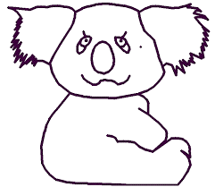 mother baby koala baby koala coloring pages creative cuties