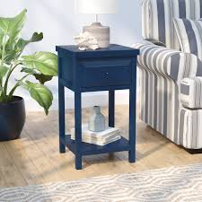 beachcrest home maquoit end table with storage u0026 reviews wayfair