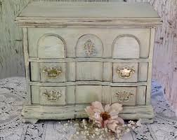 Jewelry Armoire Antique White Shabby Chic Armoire Etsy