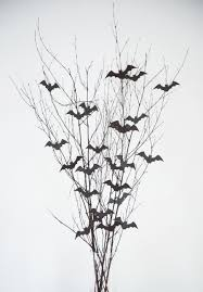 diy bat branch halloween centerpiece the sweetest occasion
