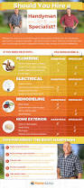 Home Advisor by Should You Hire A Handyman Or A Specialist An Infographic By