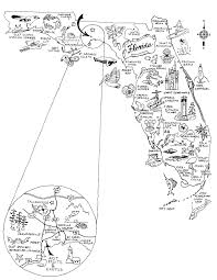 Panhandle Florida Map by Just Fruits And Exotics