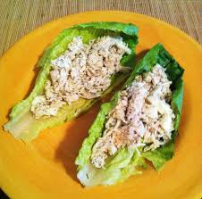 taylor made 17 day diet chicken u0026 egg salad lettuce wraps