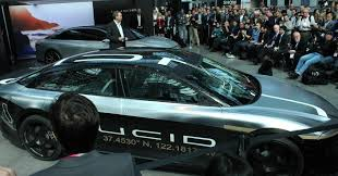 teal car lucid motors moves to bigger headquarters in tesla u0027s backyard