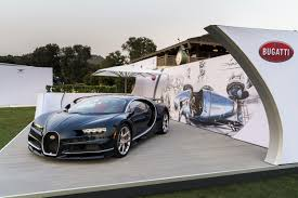 bugatti chiron 2018 monterey car week 2016 bugatti chiron debuts at the quail gtspirit