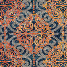 Orange Area Rugs Top 46 Outstanding Blue And Orange Area Rugs Rug Home Ideas