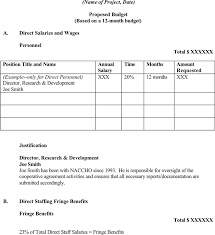 download sample format for budget request for free tidyform