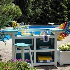 Breezesta Coastal Bar Chair by Berlin Gardens Island Bar Set Bar Stools Chairs