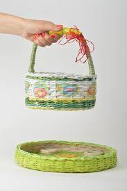 madeheart u003e woven handmade basket easter basket decorative tray