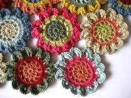 Tiny Flower Crochet Pattern - attic24 japanese flower scarf ta dah