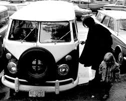 black volkswagen bus flower power willyvanrooy com