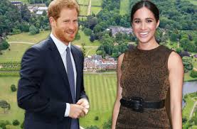 prince harry meghan markle engagement house hunting