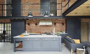 industrial interior step inside this modern industrial style barn conversion