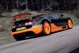 fastest car in the world bugatti veyron super sport races to new