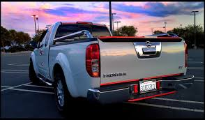 chrome nissan experience with plastic chrome mirror covers u0026 chrome tailgate
