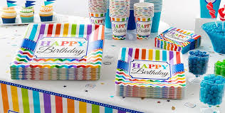 birthday party supplies rainbow chevron party supplies chevron birthday party