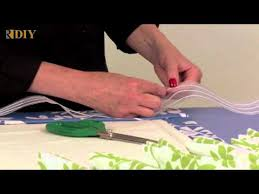How To Use Buckram In Curtains How To Use Triple Pinch Pleat Tape Youtube