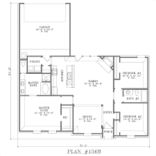 Home Plans One Story 11 Open Floor House Plans Best One Story Smartness Inspiration