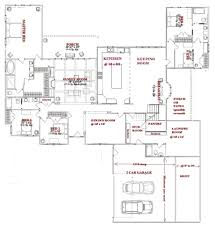 bedroom one story floor plans with ideas also 5 picture