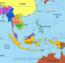 asia map no labels types map of southeast asia ornamental plant information from