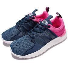 adidas cloudfoam lite racer adidas cloudfoam lite racer w blue pink women running shoes sneakers