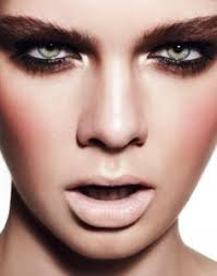 becoming a makeup artist online high impact graphic black modern 1960 s inspired makeup