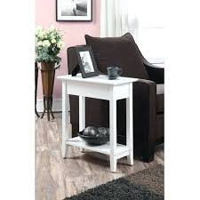 30 inch tall side table side table small tall glass side table small white tall side table