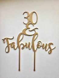30 cake topper cake topper 30 fabulous glitter asha co