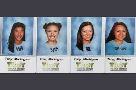 High School Senior Meme - high school seniors wear harambe shirts for id pictures