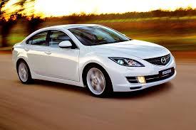 mazda car ratings midsize sedans earn low ratings in fender bender tests