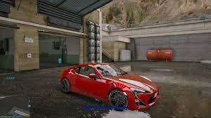 modified toyota gt86 toyota gt86 add on replace gta5 mods com
