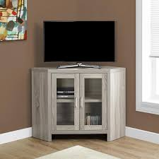 design specialties glass doors monarch specialties 2701 42 inch corner tv stand w glass doors in