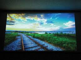 glass bead projection screen make