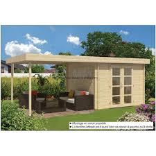 abri de jardin 9m2 abri de jardin chalet de jardin en bois avec auvent 9m2 dellinger