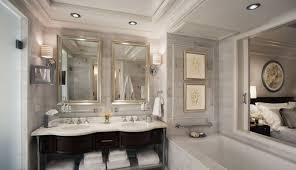 stunning luxury bathroom design with nice tub laredoreads