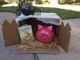 charlottes web pumpkin decorating fall halloween pinterest