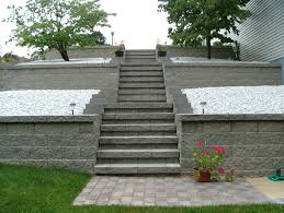 Retaining Wall Stairs Design Retaining Wall Steps Album 4