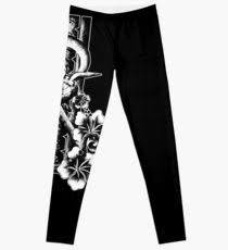 tattoo leggings redbubble
