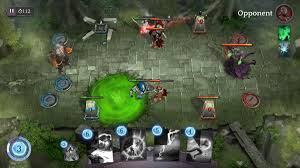 spellsouls duel legends is a card based moba heading