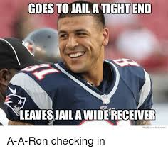We Know Memes - goes to jail a tight end nleavesjaila widereceiver we know memes