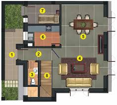 In Ground House Plans Wonderful 20 X 40 House Plans 6 Bungalow A Ground Large Jpg