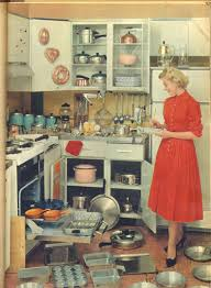 Impressive Vintage Nuance How To Be A Perfect Fifties Housewife In The Kitchen 1950s