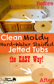 Orange Stains In Bathtub Jetted Bathtubs Can Be Hard To Clean When They Get Moldy And Have