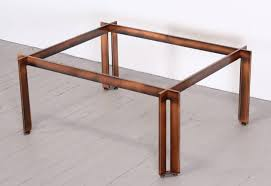 copper pipe coffee table bed u0026 shower rustic copper coffee table