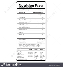blank nutrition facts template nutrition fact template excel nutrition daily